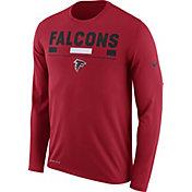 Nike Men's Atlanta Falcons Legend Staff Red Long Sleeve Performance Shirt