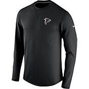 Nike Men's Atlanta Falcons Sideline 2016 Modern Crew Black Sweatshirt