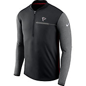Nike Men's Atlanta Falcons Sideline 2017 Coaches Black Half-Zip Top