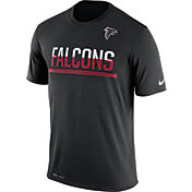 Nike Men's Atlanta Falcons Practice Black T-Shirt