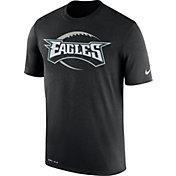 Nike Men's Philadelphia Eagles Legend Football Icon Performance Black T-Shirt