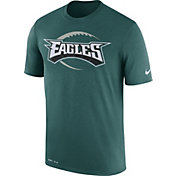 Nike Men's Philadelphia Eagles Legend Icon Performance Green T-Shirt