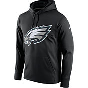 Nike Men's Philadelphia Eagles Performance Circuit Logo Essential Black Hoodie