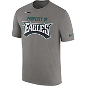 Nike Men's Philadelphia Eagles Property Of Grey T-Shirt