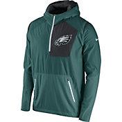 Nike Men's Philadelphia Eagles Sideline 2016 Vapor Speed Fly Rush Teal Jacket