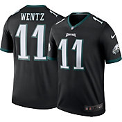 Nike Men's Color Rush 2017 Legend Jersey Philadelphia Eagles Carson Wentz #11