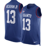 Nike Men's New York Giants Odell Beckham Jr. #13 Blue Jersey Tank Top