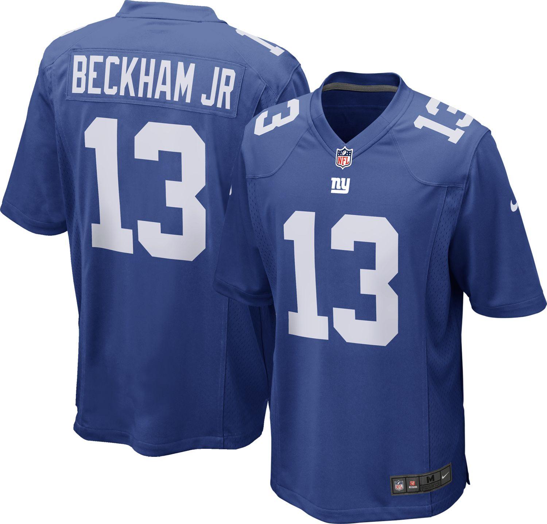 Nike Men's Home Game Jersey New York Giants Odell Beckham Jr. #13   DICK'S  Sporting Goods