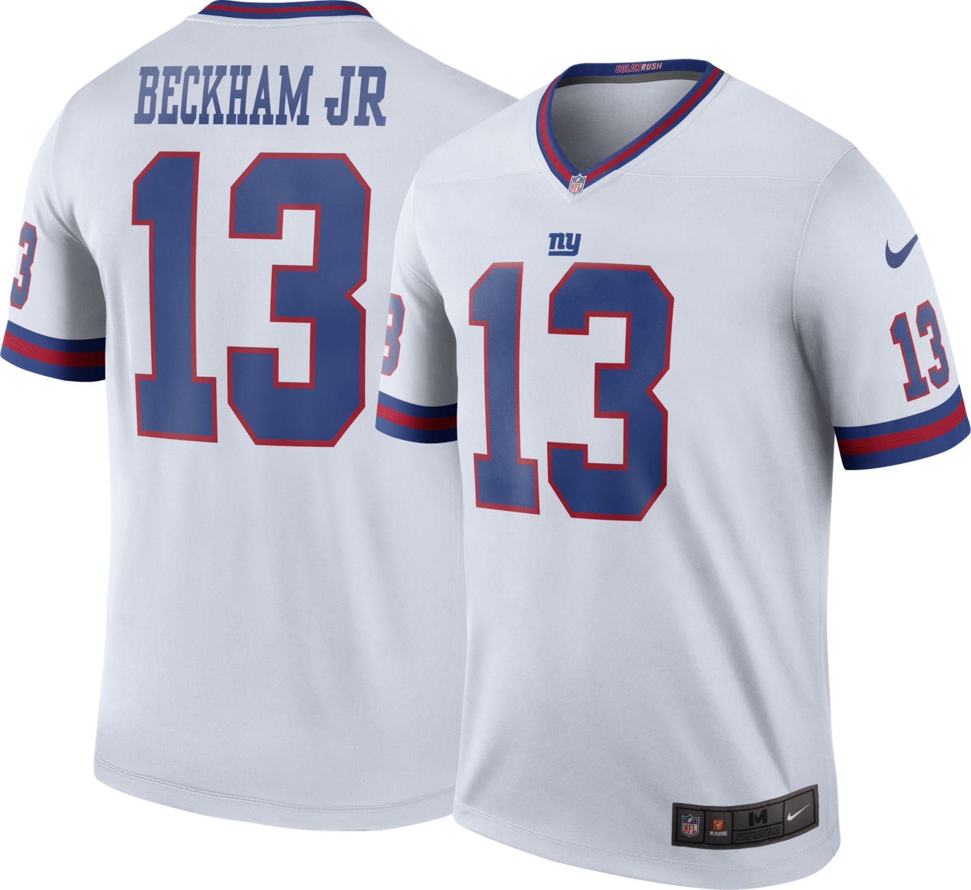 more photos 63a4f b441c 2014 new nfl jerseys new york giants 13 odell beckham jr red ...
