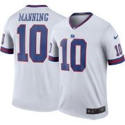 Nike Men's Color Rush New York Giants Eli Manning #10 Legend Jersey