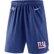 Nike Men's New York Giants Dry Knit Blue Performance Shorts