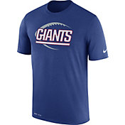 Nike Men's New York Giants Legend Icon Performance Blue T-Shirt
