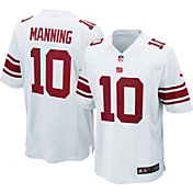 Nike Men's Away Game Jersey New York Giants Eli Manning #10