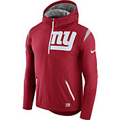 Nike Men's New York Giants Sideline 2017 Fly Rush Red Lightweight Jacket