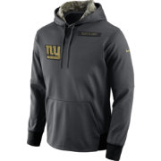 Nike Men's New York Giants Salute to Service 2016 Anthracite Pullover Hoodie