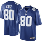 Nike Men's Home Limited Jersey New York Giants Victor Cruz #80