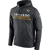 Nike Men's Jacksonville Jaguars Sideline 2016 Circuit Anthracite Pullover Hoodie