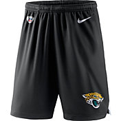 Nike Men's Jacksonville Jaguars Dry Knit Black Performance Shorts