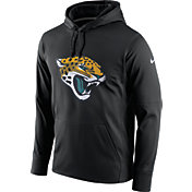 Nike Men's Jacksonville Jaguars Performance Circuit Logo Essential Black Hoodie