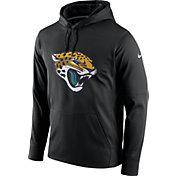 Nike Men's Jacksonville Jaguars Performance Circuit Logo Essential Black Hoodie