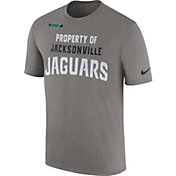Nike Men's Jacksonville Jaguars Property Of Grey T-Shirt