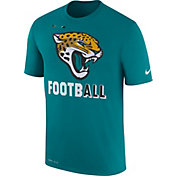 Nike Men's Jacksonville Jaguars Sideline 2017 Legend Football Performance Teal T-Shirt