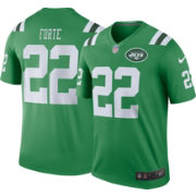 Nike Men's Color Rush New York Jets Matt Forte #22 Legend Jersey