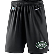 Nike Men's New York Jets Dry Knit Black Performance Shorts