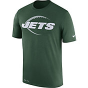 Nike Men's New York Jets Legend Icon Performance Green T-Shirt