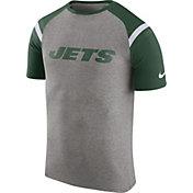 Nike Men's New York Jets Enzyme Shoulder Stripe T-Shirt