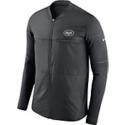 Nike Men's New York Jets Sideline 2017 Shield Hybrid Anthracite Jacket