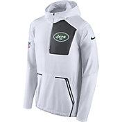 Nike Men's New York Jets Sideline Alpha Fly Rush White Jacket