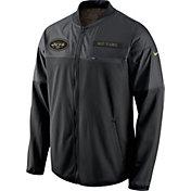 Nike Men's New York Jets Salute to Service 2016 Hybrid Black Jacket