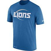 Nike Men's Detroit Lions Legend Icon Performance Blue T-Shirt
