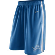 Nike Men's Detroit Lions Epic Blue Shorts
