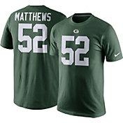 Nike Men's Green Bay Packers Clay Matthews #52 Pride Green T-Shirt