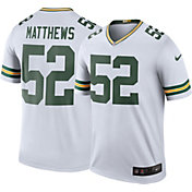 Nike Men's Color Rush Green Bay Packers Clay Matthews #52 Legend Jersey Shirt