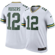 Nike Men's Color Rush Green Bay Packers Aaron Rodgers #12 Legend Jersey