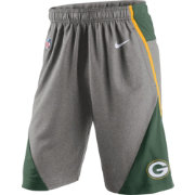 Nike Men's Green Bay Packers Fly XL 4.0 Grey Shorts