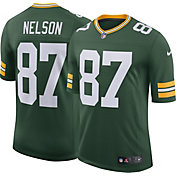 Nike Men's Home Limited Jersey Green Bay Packers Jordy Nelson #87