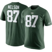 Nike Men's Green Bay Packers Jordy Nelson #87 Pride Green T-Shirt