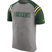 Nike Men's Green Bay Packers Enzyme Shoulder Stripe T-Shirt