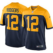Nike Men's Alternate Game Jersey Green Bay Packers Aaron Rodgers #12
