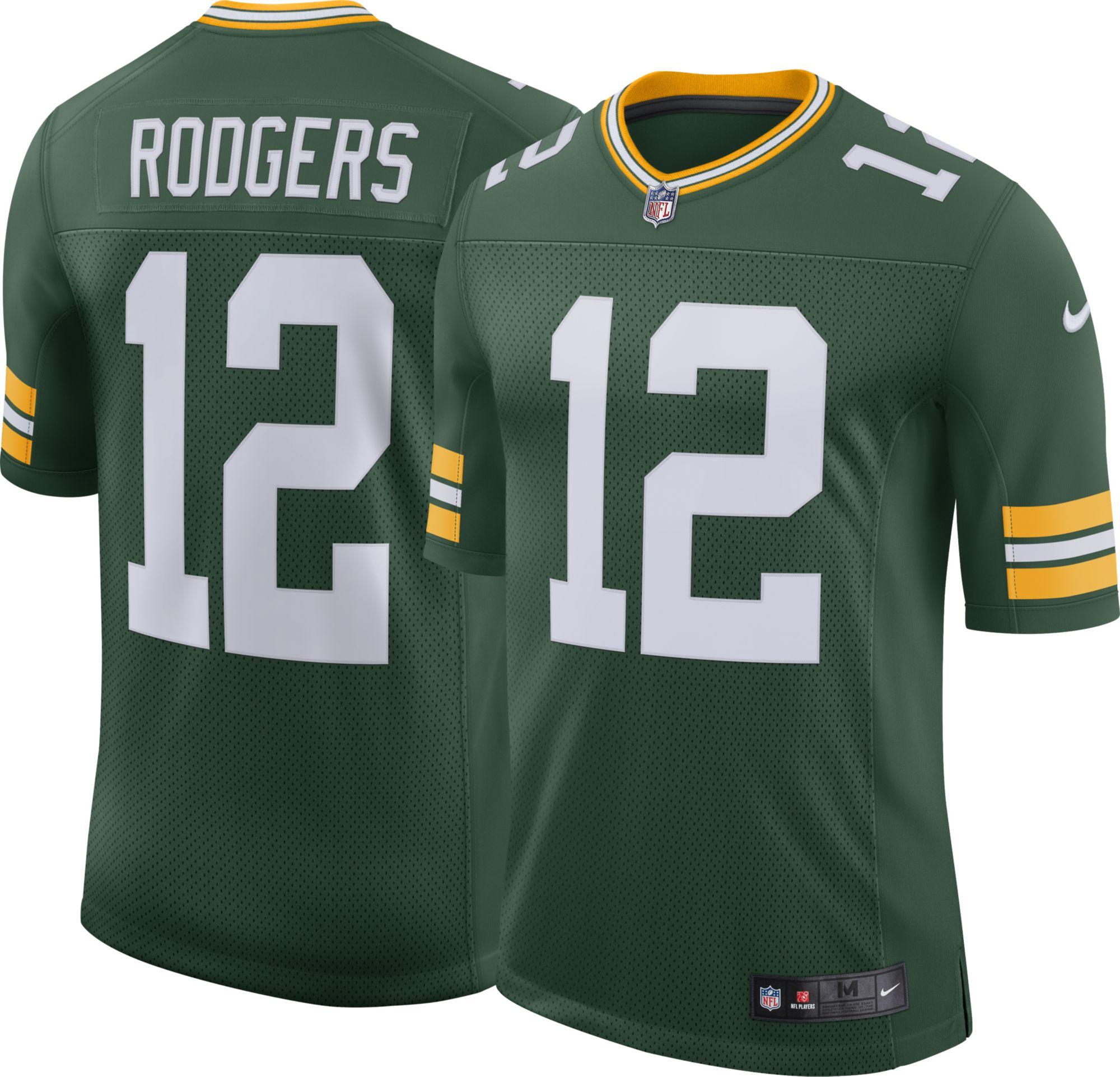 Compare. Product Image � Nike Men\u0027s Home Limited Jersey Green Bay Packers  Aaron Rodgers #12
