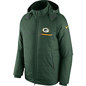 Nike Men's Green Bay Packers Sideline 2016 Green Puff Jacket