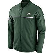 Nike Men's Green Bay Packers Sideline 2016 Elite Hybrid Green Jacket