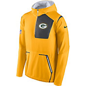 Nike Men's Green Bay Packers Sideline 2016 Alpha Fly Rush Gold Jacket