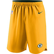 Nike Men's Green Bay Packers Sideline 2017 Vapor Gold Shorts