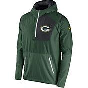 Nike Men's Green Bay Packers Sideline 2016 Vapor Speed Fly Rush Green Jacket