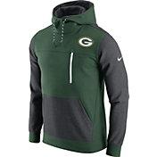 Nike Men's Green Bay Packers AV15 Fleece Green Pullover Hoodie